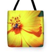 Bee Orange Tote Bag