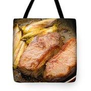 Beef Tenderloins With Endives Tote Bag