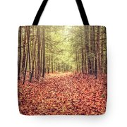 Before The Last Leaf Falls Tote Bag