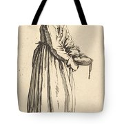 Beggar Woman With Pan Tote Bag