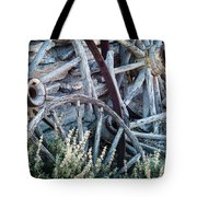 Belmont Broken Wagon Wheels 1649 Tote Bag