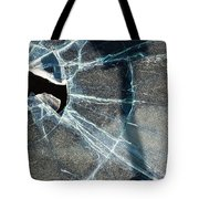 Belmont Cracked Window And Shadow 1599 Tote Bag