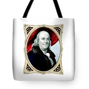Ben Franklin - Two Tote Bag