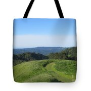 Bend In The Trail Tote Bag