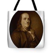 Benjamin Franklin - Three Tote Bag