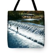 Bennett Springs Spillway Tote Bag