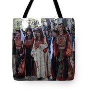 Bethlehemites In Traditional Dress Tote Bag