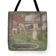 Between Art And Nature Tote Bag