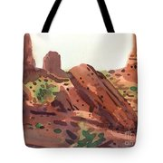 Between The Buttes Tote Bag