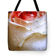 Bicolor Rose Tote Bag