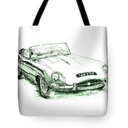 E Type Tote Bag