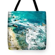 Big Sur California Coastline On Pacific Ocean Tote Bag