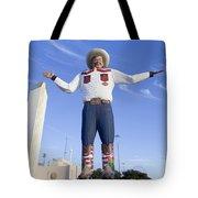 Big Tex In Dallas Texas Tote Bag