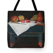 Bing On A Bench Tote Bag