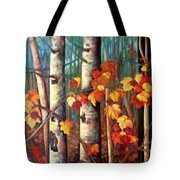 Birch And Maple Tote Bag