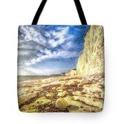 Birling Gap And Seven Sisters Art Tote Bag