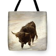 Black Beast Wanderer Tote Bag by Joseph Denovan Adam