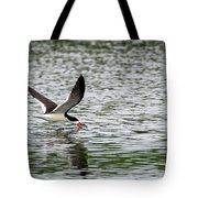 Black Skimmer Fishing Tote Bag