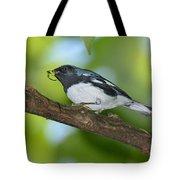 Black-throated Blue Warbler Tote Bag