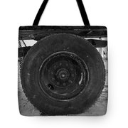 Black Wheel Tote Bag