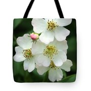 Blackberry Blossoms Tote Bag