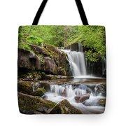 Blaen Y Glyn Waterfalls Tote Bag