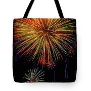 Blooming Fireworks Tote Bag