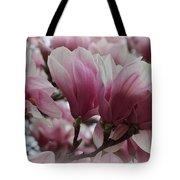 Blooming Pink Magnolias Tote Bag