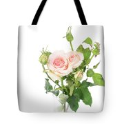 Rose Twigs Tote Bag