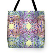 Blossoms And Butterflies Tote Bag