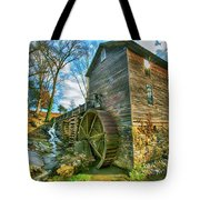 Blowing Cave Mill Near Smoky Mountains Of East Tennessee Tote Bag