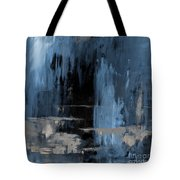 Blue Abstract 12m2 Tote Bag