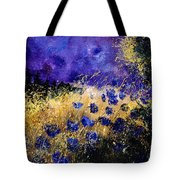 Blue Cornflowers Tote Bag