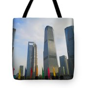 Blue Diamond Tote Bag
