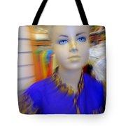 Blue Eyed Boy Tote Bag