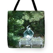 Blue Heron Tote Bag