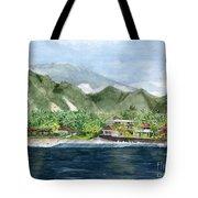 Blue Lagoon Bali Indonesia Tote Bag