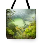 Blue Lake Stradbroke Island Tote Bag