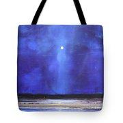 Blue Night Magic Tote Bag