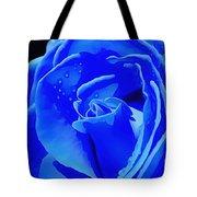 Blue Romance Tote Bag