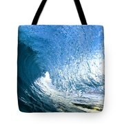 Blue Sleeve  - Triptych   Part 1of 3 Tote Bag