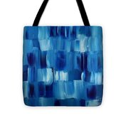 Blue Thing Tote Bag by KR Moehr