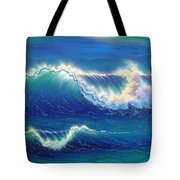 Blue Thunder Tote Bag