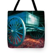 Blue Wagon Tote Bag