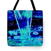 Blue Water Tote Bag
