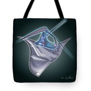 Blue Wonder Tote Bag