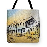 Boardinghouse Cable Ghost Town Montana Tote Bag