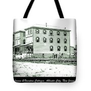 Boardinghouses And Cottages Atlantic City New Jersey C 1900 Tote Bag