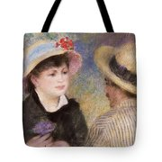 Boating Couple Tote Bag