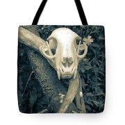 Bobcat Deer Antler Tote Bag